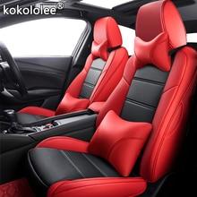 Kokolee-housse de siège de voiture   En cuir, sur mesure, pour Honda Spirior navette Elysion Greiz GIENIA INSPIRE voitures