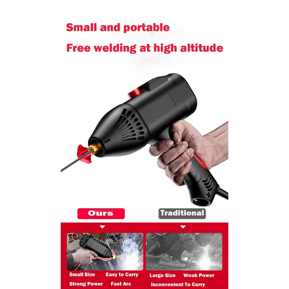 용접기 220V 4000W Handheld Electric Arc Welding Machine Automatic Digital Welder Tool Current Thrust for 2~14mm Welding Thickness enlarge