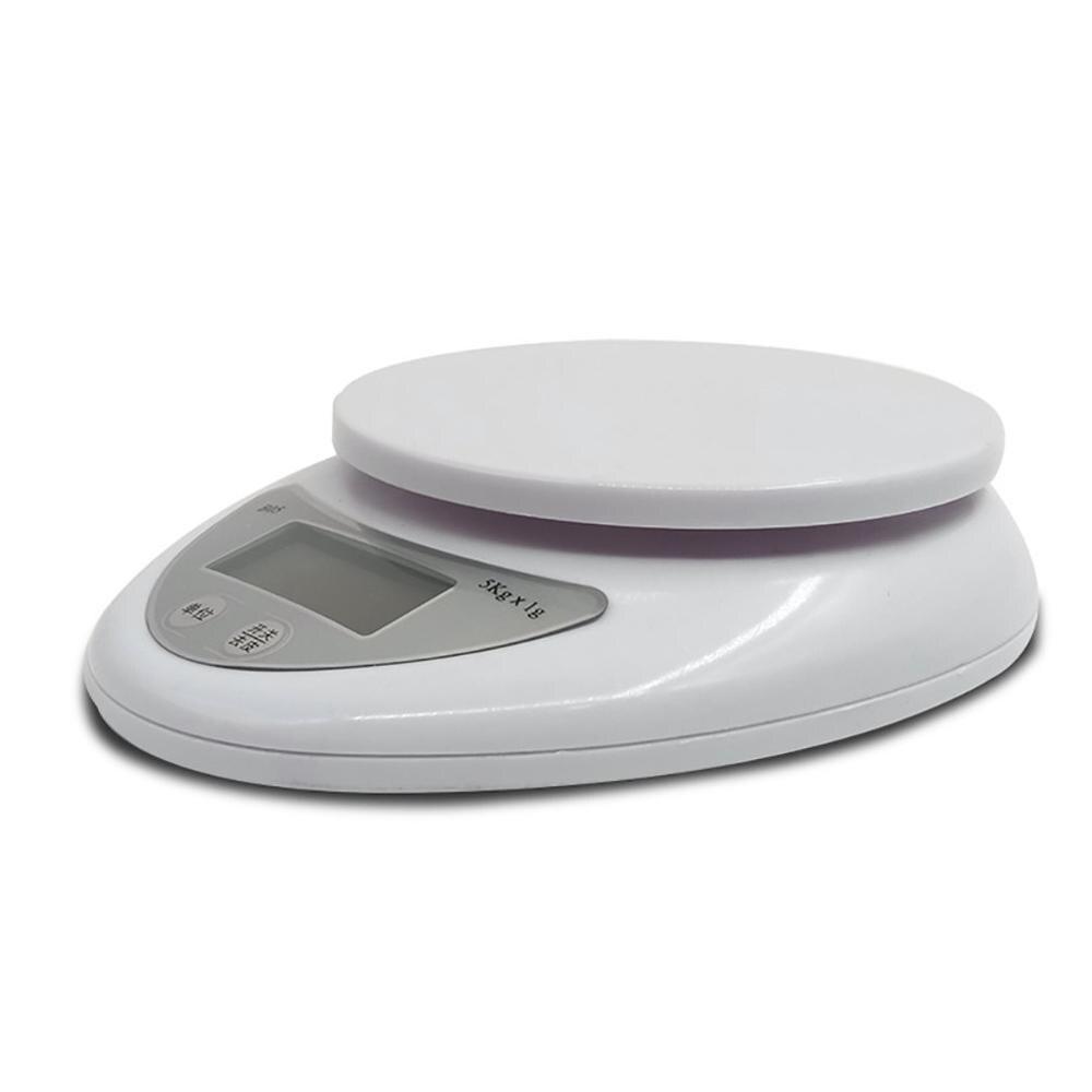 Bo5 balanzas para hornear alimentos Mini compactas 5Kg/1G balanzas electrónicas para cocina Balanza de vidrio para Cocina Casera Balck