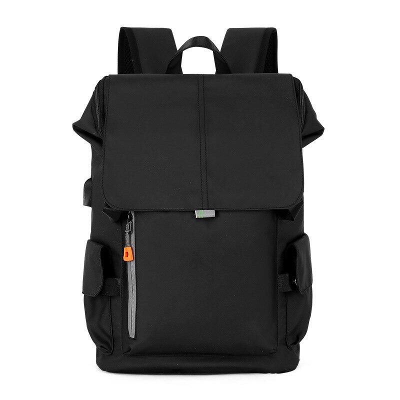 حقيبة ظهر أكسفورد للرجال بسعة كبيرة متعددة الوظائف مزودة بمنفذ USB حقيبة ظهر للرجال