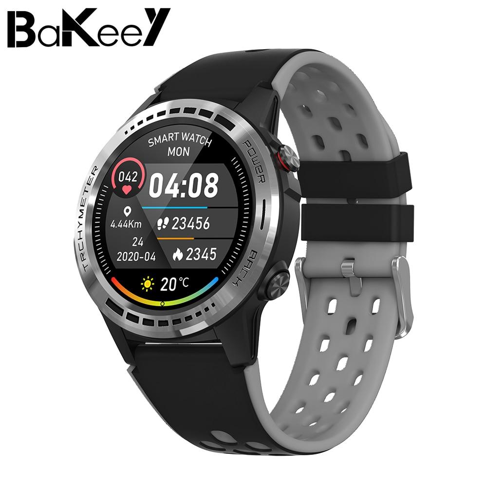 Bakeey M7 GPS+GLONASS+BEIDOU Positioning Compass Altimeter Barometer Outdoor Watch Heart Rate Blood Pressure Monitor Smart Watch