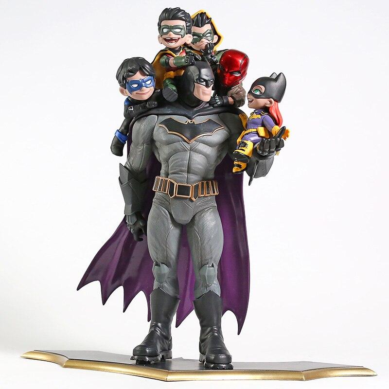 DC Comics Бэтмен семья Nightwing Робин красный капюшон статуя ПВХ фигурка модель игрушки Фигурки