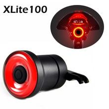 2019 XLITE100 Bicycle Flashlight Bike Rear Light Auto Start/Stop Brake Sensing IPx6 Waterproof LED Cycling Taillight