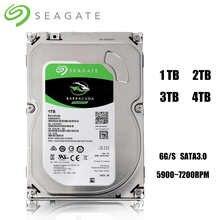 Жесткий диск SATA 3 Интерфейс 1 ТБ 2 ТБ 3 ТБ 4 ТБ бренд настольных ПК 3,5