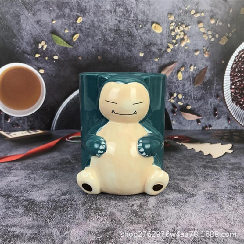 Покемон мультфильм периферийные устройства picachu cabi мультфильм 3D керамическая чашка для воды большая емкость кружка детский подарок на день...