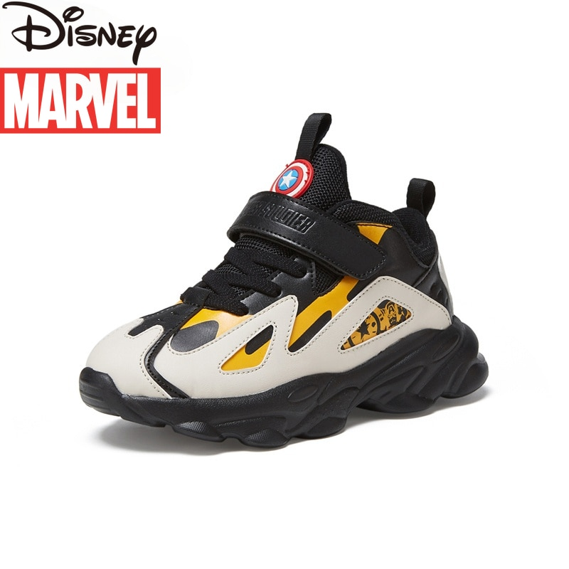 Limited Edition Marvel Heroes Avengers Captain America Children's Shoes Sneakers Breathable Casual Boys Shoes Shoes for Kids