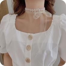 Daily Wear Pearl Headband Headwear Fairy Girl Mori Style Super Fairy Streamer Hair Accessory Female
