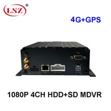 Spezialisierung in die produktion von HD HDD auto video recorder 4G GPS auf-bord überwachung host allgemeine 4CH ausrüstung MDVR