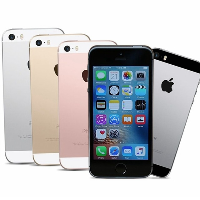 Dual-core Apple Iphone SE A1662 A1723 16GB 32GB 64GB ROM 2GB RAM Unlock Used Mobile Cell Phone 4