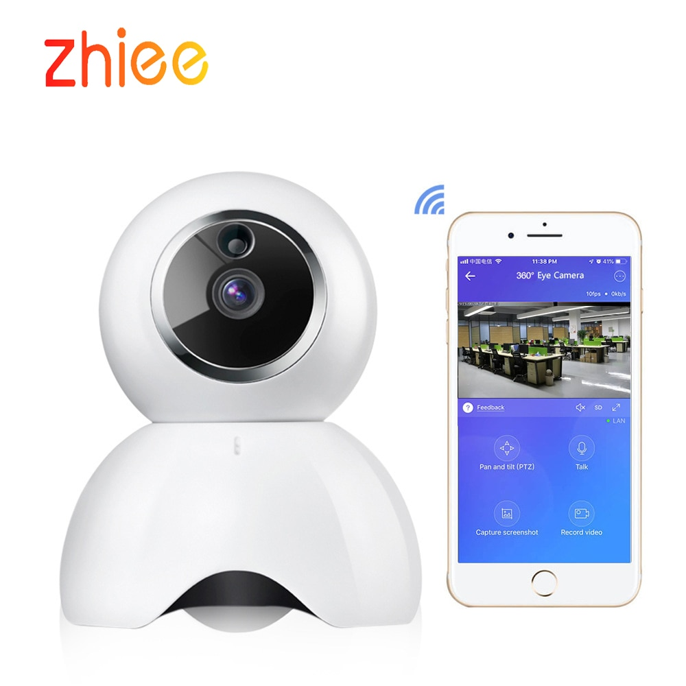 Ewelink كاميرا لا سلكية عالية الوضوح واي فاي المراقبة الذكية الأمن كشف الحركة كاميرا داخلية