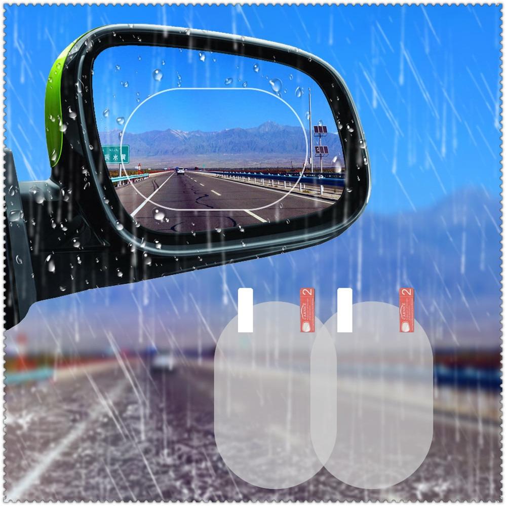 Coche ventana película transparente película para espejo retrovisor impermeable para Mitsubishi ASX esfuerzo Expo Galant Grandis Lancer Mirage Montero