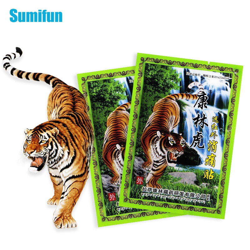 16pcs Tiger Balm Arthritis Pain Patches Back Neck Muscle Sprain Medical Plaster Joints Painkiller Herbal Sticker Health Care