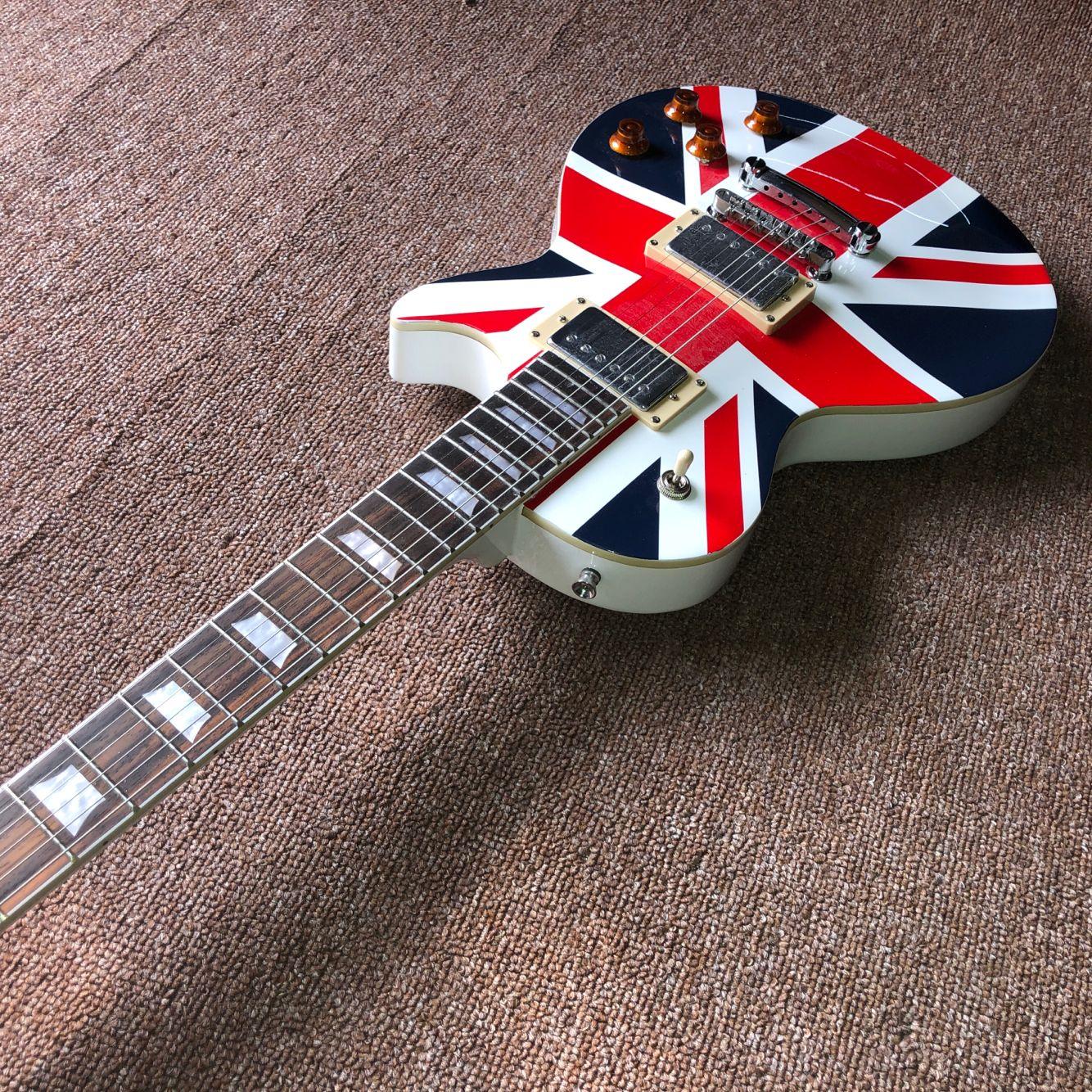 Custom shop.Standard electric guitar.mahogany body.rosewood fingerboard gitaar,handwork 6 Strings guitarra. enlarge