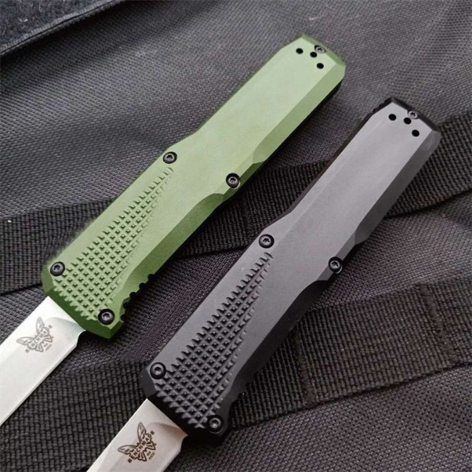 Benchmade 4600 Folding Knife High Hardness S30V Blade Material T6 Aluminum Handle Outdoor Self Defense Safety Pocket Knives EDC enlarge