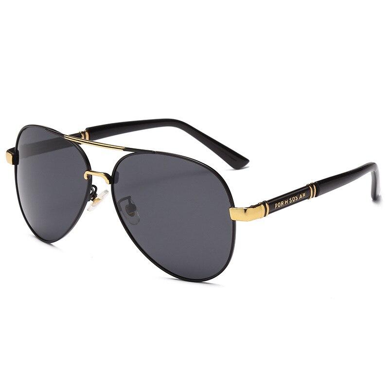 Очки солнцезащитные поляризационные UV400 для мужчин и женщин, модные роскошные брендовые дизайнерские солнечные очки для вождения, красный ...