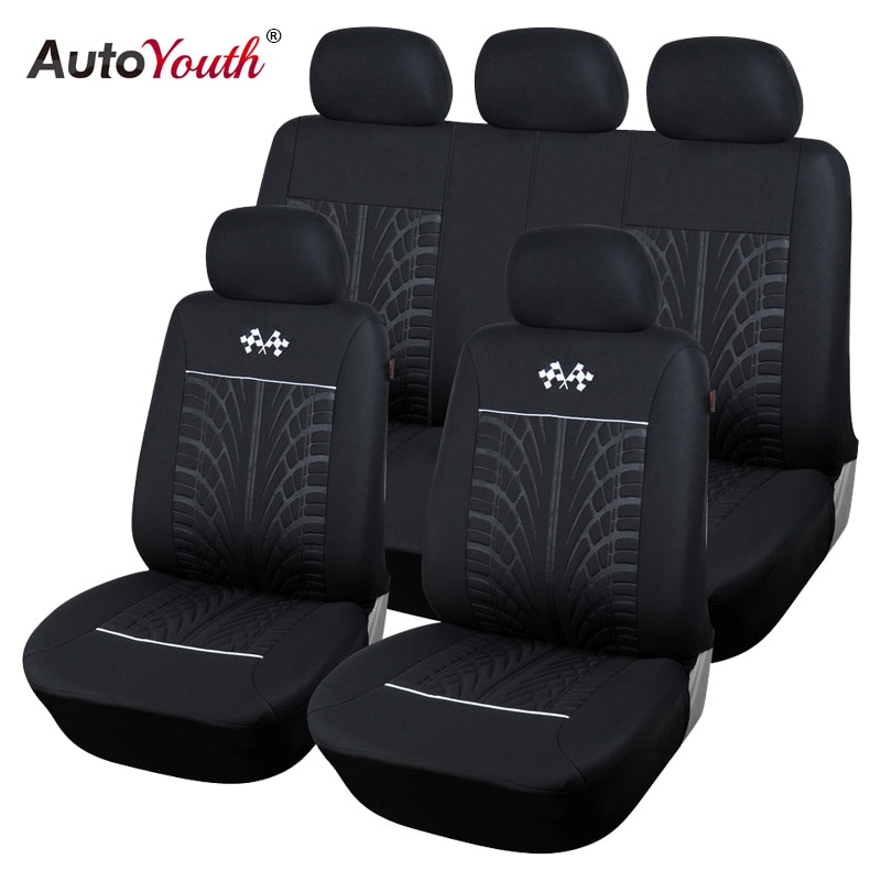 AUTOYOUTH Sports Car Seat Covers Universal Vehicles Seats Car Seat Protector Interior Accessories Fo