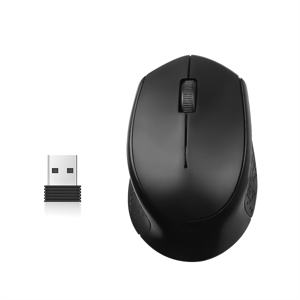 M280 2.4GHz Wireless Optical Mouse 1600DPI Ergonomik dengan Desain Receptor USB para PC
