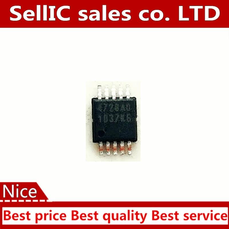 Chip de circuito integrado IC MCP4728UN McP4728-e /UN 4728UN