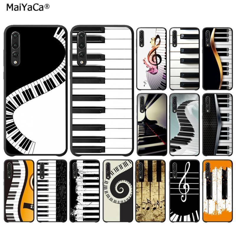 Funda de teléfono MaiYaCa con teclado de piano y música para Huawei P30 lite pro P20 pro, Psmart 2019, Honor8x, 9lite, 20, 9, 10 Lite, NOVA 3E