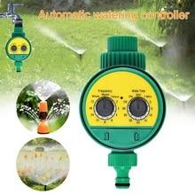 Système de contrôleur automatique de robinet à bille   Minuterie darrosage de jardin avec affichage électronique LCD, contrôleur dirrigation de jardin domestique