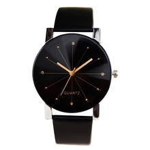 Luxury Watches Men Women Leather Strap Line Analog Quartz Ladies Wrist Watches Fashion Watch 2021 Fr