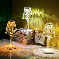Цветная (RGB) в итальянском стиле Kartell Батарея сенсорный Сенсор настольная лампа USB светильник декора Ресторан настольная лампа Романтически...