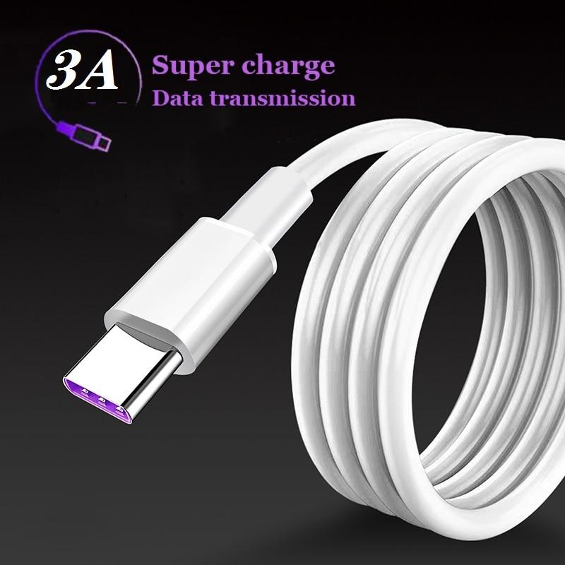 Cable USB tipo C de carga rápida para Xiaomi Redmi note 8,...