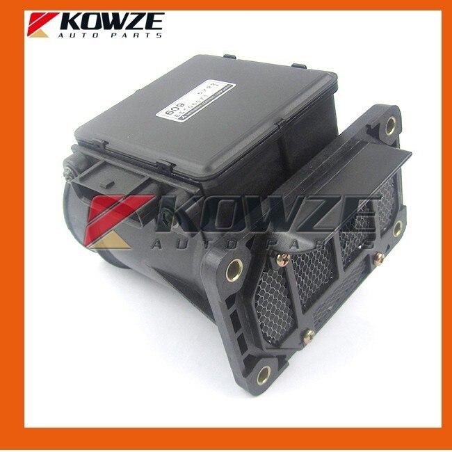 Sensor de masa de aire de medidor de flujo para Mitsubishi Pajero Montero II Triton L200 L400 espacio vagón de 1998-2000 MD183609 E5T06071