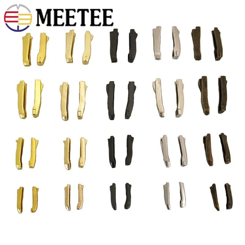 20/50 conjuntos 3 #5 #8 #10 # duplo aberto zíper trava kits de reparação ferramenta para zíperes antiderrapante rolha casaco metal bidirecional zip plug fivela