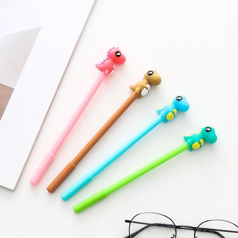 4 шт./набор милая гелевая ручка качественные канцелярские принадлежности школьная гелевая чернильная ручка школьные канцелярские принадле...