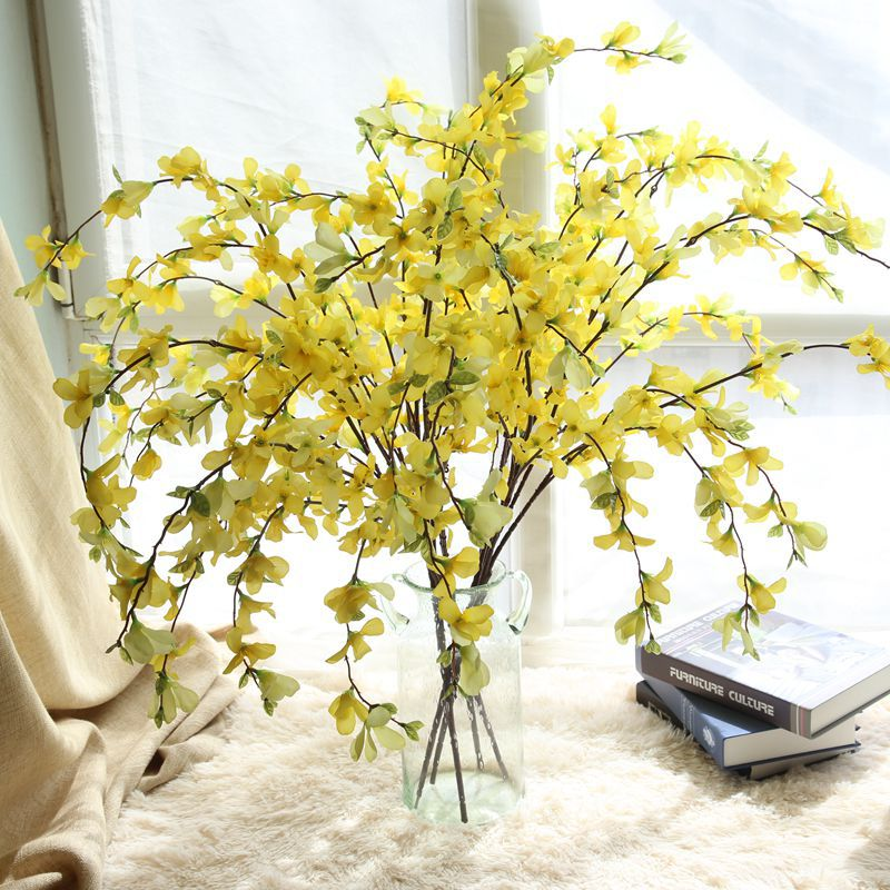 Artificial Flower Spring Flower Wishing Flower Dancing Orchid For Wedding Party Home Decoration Flower Wall Photo Gallery