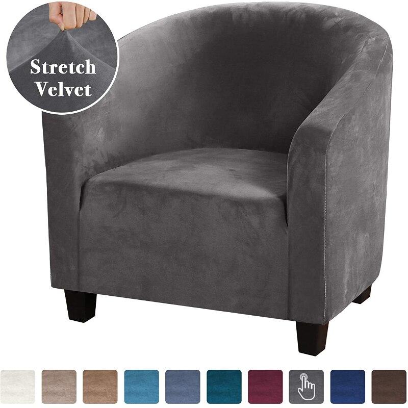 المخملية أفخم غطاء أريكة مقعد واحد العالمي شامل تمتد كرسي حامي لمطعم الإنترنت مقهى فندق نادي