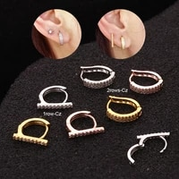 small cz cartilage earring tiny tragus helix tragus earring piercing jewellery