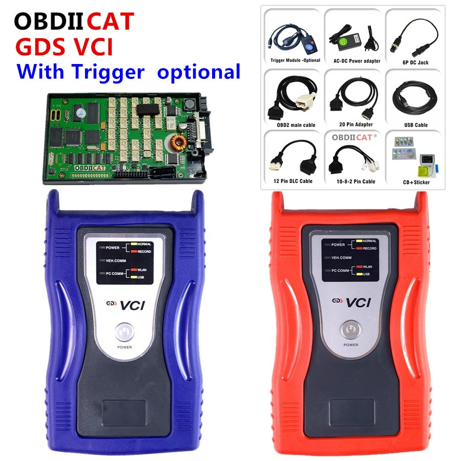 GDS VCI Auto Diagnostic Tool for KI-A  hyu-ndai scanner OBD2 Diagnose Programming Interface Firmware
