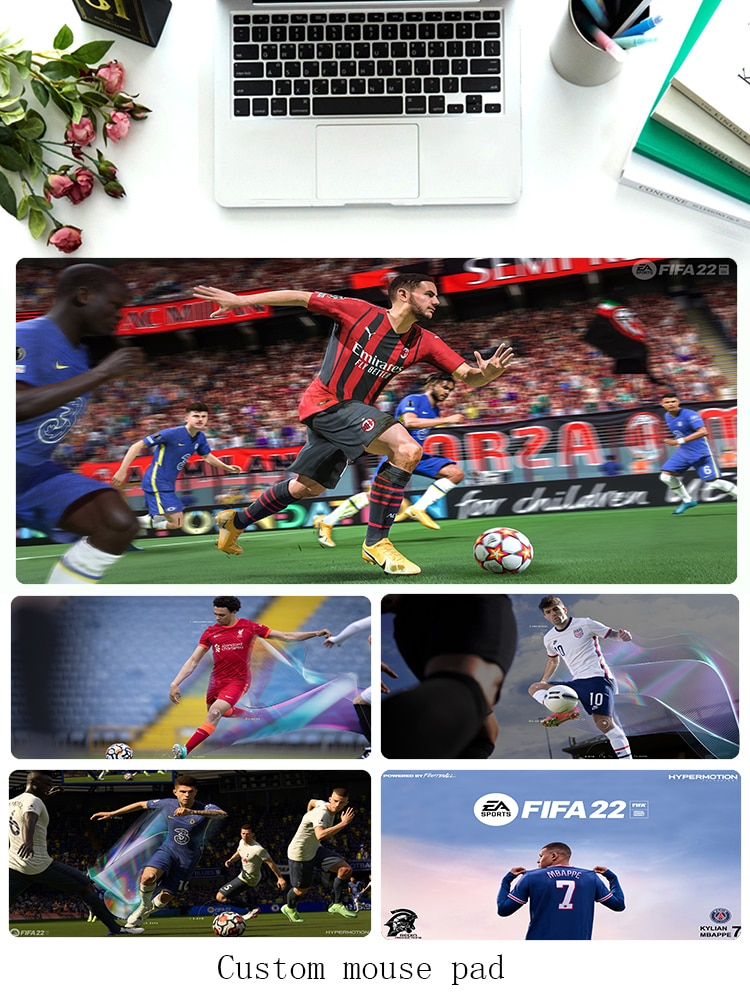Gamer Mouse Mats FIFA 22 Mousepad PC Gamer Cabinet For Office Game Pad for Computer Mouse Keyboard Gaming Accessories Anime Rug