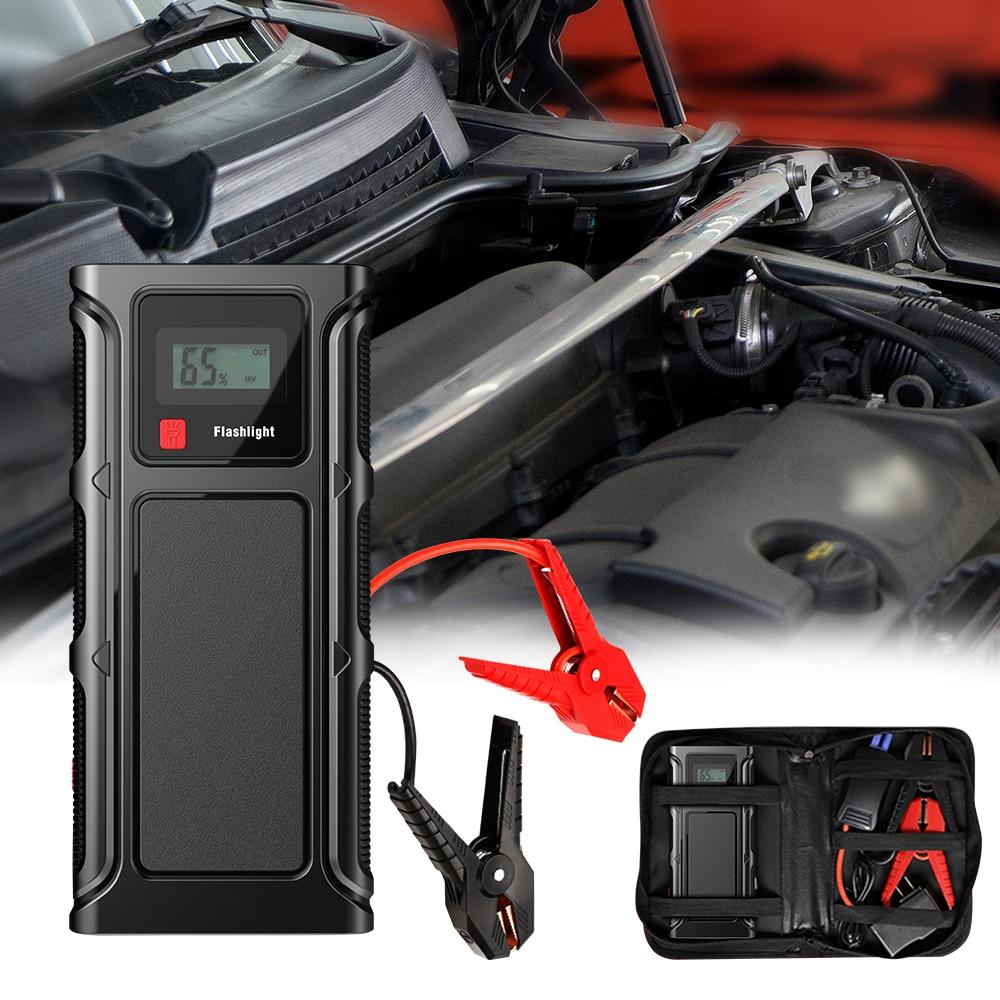 50800mAh Car Emergency Start Power 12V Portable EU Plug Auto Power Starter Buster Jump Starter Batte