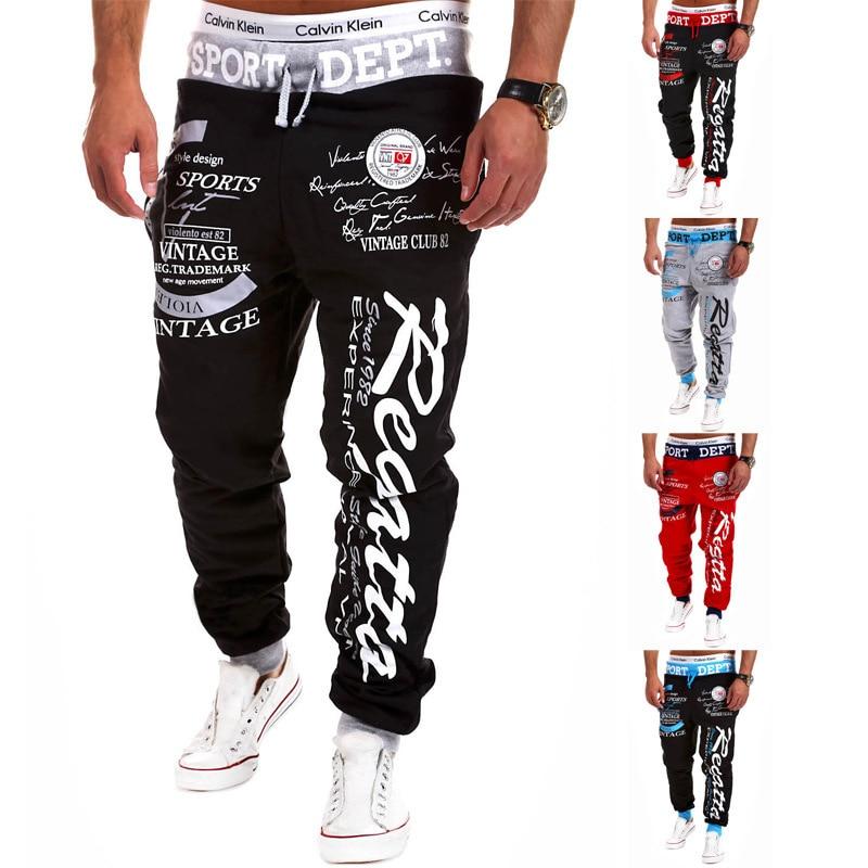 2021 Fashion Joggers Casual Pants Fitness Men Sportswear Tracksuit Bottoms Sweatpants Trousers Gyms