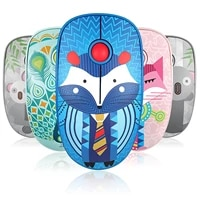 2 4g usb 1000 dpi wireless mouse silent gaming mouse for air pro laptop ergonomic computer cute animals mice gamer