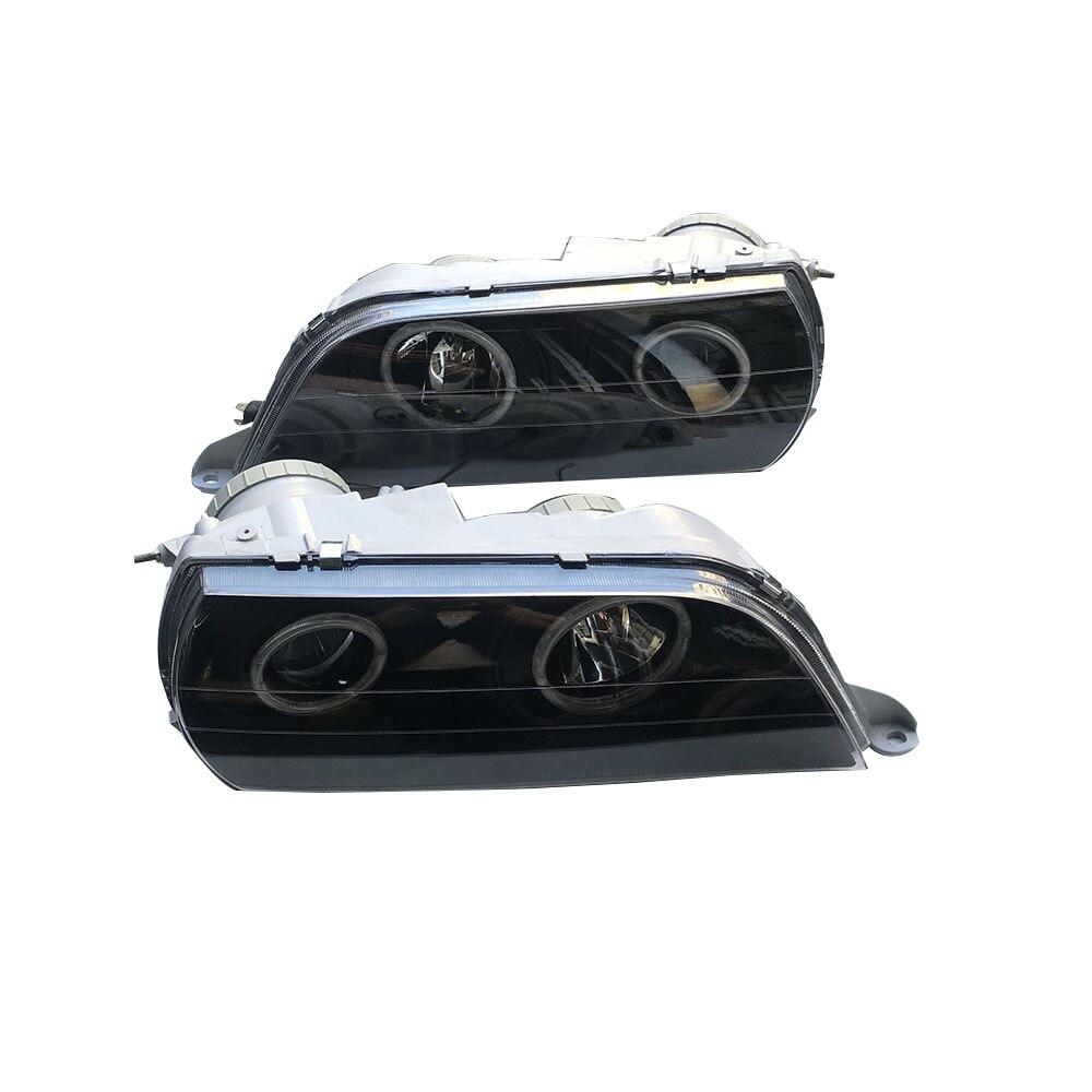 زوج من المصابيح الأمامية LED لجهاز عرض السيارة ، مصباح أمامي على شكل هالو لتويوتا شيزر GX100 JZX100 1996 1997 1998 1999 ، سعر التنين