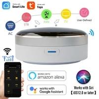 Cussam     telecommande universelle IR WiFi   infrarouge  Hub de controle domestique  application Tuya  fonctionne avec Google Assistant Alexa Siri