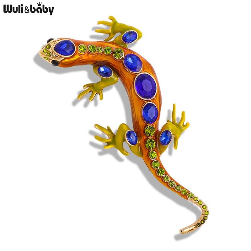 Женская/Мужская большая брошь Wuli & baby, Повседневная брошь, 4 цвета, значок на булавке, украшение для вечевечерние