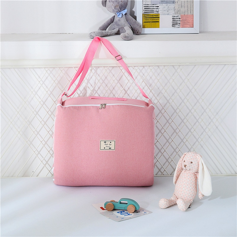 New Removable Newborn Bed Baby Cot Nest Bed Bag Set Bebe Protect Cradle Cushion Bumper Portable Travel Crib for Newborn Babynest