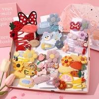 new children cartoon hairpin korea ins lovely childrens series hair clips headwear hair accessories for girls birthday present