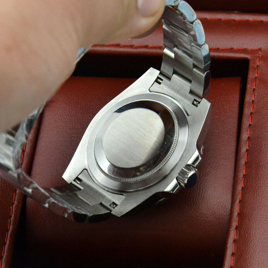 40MM Kanagawa Surfing No LOGO Dial Ceramic Ring Yacht Men's Automatic Mechanical Watch Stainless Steel Strap enlarge