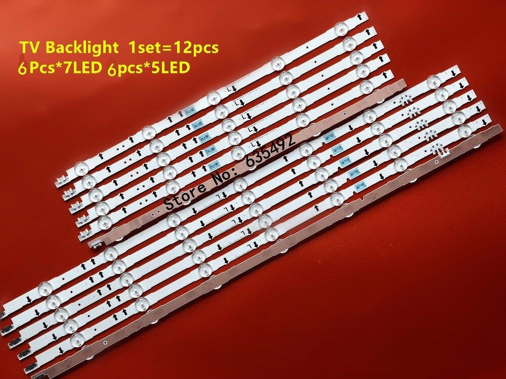 LED bande 2014SVS55 D4GE-550DCA-R3 D4GE-550DCB-R3 pour Sam soleil UE55H6800 UE55H6290 BN4UE55J5600 UE55J5510 UE55J6300 CY-GH05BGLV4H