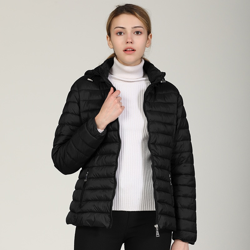 Женская хлопковая куртка, короткая легкая женская хлопковая стеганая куртка, хлопковая стеганая куртка, тонкая женская куртка