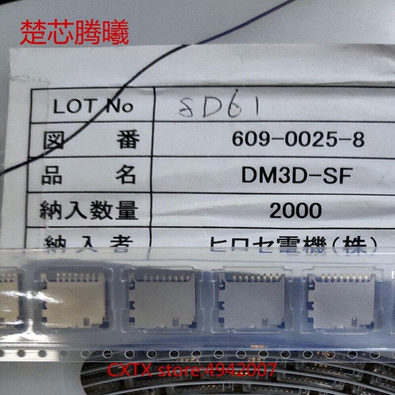 CHUXINTENGXI DM3D-SF para lector de tarjetas TF conector ranura de enchufe nuevo Original SD lector de tarjetas TF