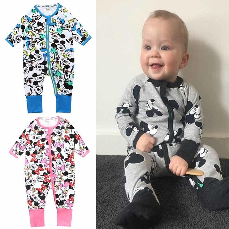 Ropa de Mickey para bebé, Minnie, mono infantil, ropa de Disney para niñas, nuevos trajes de moda, Boutique, tiendas de ropa para niños