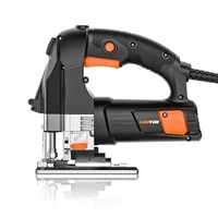 laser jigsaw power tool machine electric saw with laser guide jig saw for metal wood steel cutter blades for woodworking