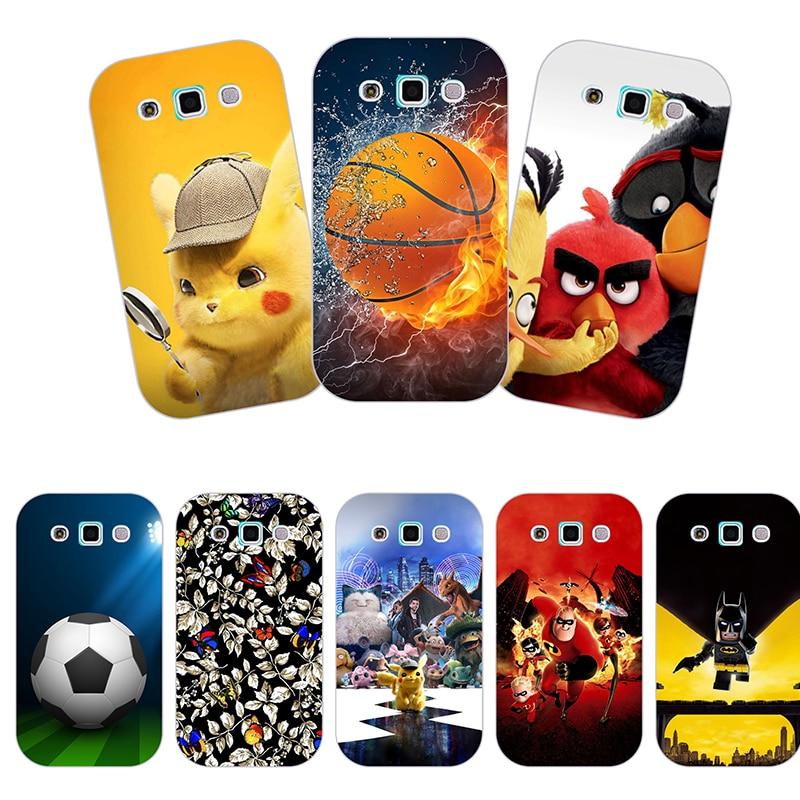 Funda para Samsung Galaxy Win i8552 i8558 i8550 funda trasera FLORES PLANTAS Original silicona suave impresa Linda funda de teléfono animal